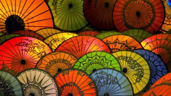 01 Chinese Umbrellas